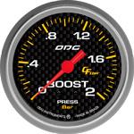 ODG Manômetro Carbon Boost 2 BAR 66,7 mm