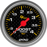 ODG Manômetro Carbon Boost 4 BAR 52 mm