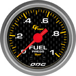 ODG Manômetro Carbon Fuel 1 BAR 52 mm