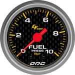 ODG Manômetro Carbon Fuel 10 BAR 52 mm