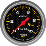 ODG Manômetro Carbon Fuel 10 BAR 66,7 mm