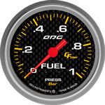 ODG Manômetro Carbon Fuel 1 BAR 66,7 mm