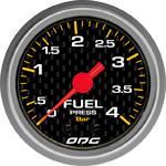 ODG Manômetro Carbon Fuel 4 BAR 52 mm