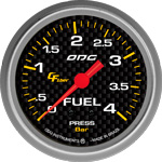ODG Manômetro Carbon Fuel 4 BAR 66,7 mm