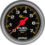 ODG Manômetro Carbon Fuel 7 BAR 52 mm