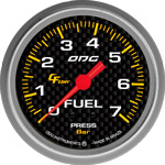 ODG Manômetro Carbon Fuel 7 BAR 66,7 mm