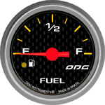 ODG Indicador Carbon Fuel Level 52 mm