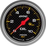 ODG Manômetro Carbon Oil 10 BAR 66,7 mm