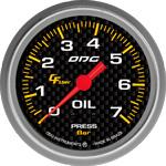 ODG Manômetro Carbon Oil 7 BAR 66,7 mm