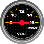 ODG Indicador Carbon Volt 52 mm