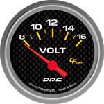 ODG Indicador Carbon Volt 66,7 mm