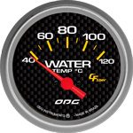 ODG Indicador Carbon Water Temp 66,7 mm