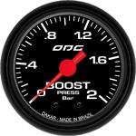 ODG Manômetro Dakar Boost 2 BAR 52 mm