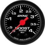 ODG Manômetro Dakar Boost 4 BAR 52 mm