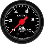 ODG Manômetro Dakar Oil 10 BAR 52 mm