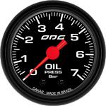 ODG Manômetro Dakar Oil 7 BAR 52 mm