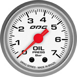 ODG Manômetro Drag Oil 7 BAR 52 mm