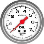 ODG Manômetro Drag Oil 7 BAR 66,7 mm