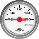 ODG Indicador Drag Oil Temp 52 mm