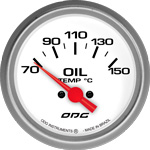 ODG Indicador Drag Oil Temp 66,7 mm