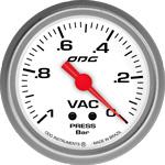 ODG Manômetro Drag Vac -1 BAR 66,7 mm