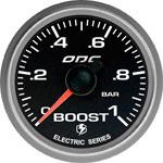 ODG Manômetro Evolution Full Color Boost 1 BAR 52 mm ELÉTRICO
