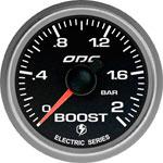 ODG Manômetro Evolution Full Color Boost 2 BAR 52 mm ELÉTRICO