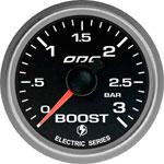 ODG Manômetro Evolution Full Color Boost 3 BAR 52 mm ELÉTRICO