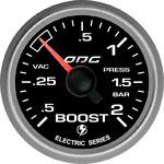ODG Manômetro Evolution Full Color Boost -1 a 2 BAR 52 mm ELÉTRICO