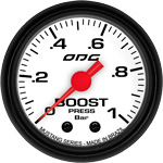 ODG Manômetro Mustang Boost 1 BAR 52 mm