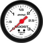 ODG Manômetro Mustang Boost 3 BAR 66,7 mm