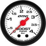 ODG Manômetro Mustang Boost 4 BAR 52 mm