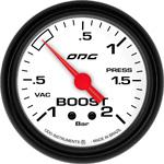 ODG Manômetro Mustang Boost -1 a 2 BAR 66,7 mm