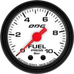 ODG Manômetro Mustang Fuel 10 BAR 52 mm