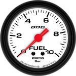 ODG Manômetro Mustang Fuel 10 BAR 66,7 mm