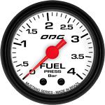 ODG Manômetro Mustang Fuel 4 BAR 52 mm