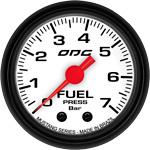 ODG Manômetro Mustang Fuel 7 BAR 52 mm