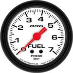 ODG Manômetro Mustang Fuel 7 BAR 66,7 mm