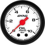 ODG Manômetro Mustang Oil 10 BAR 52 mm