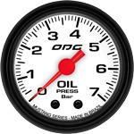 ODG Manômetro Mustang Oil 7 BAR 52 mm