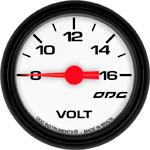 ODG Indicador Mustang Volt 52 mm